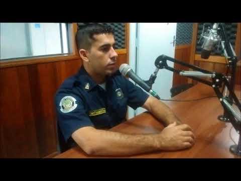 Comandante Vicente se despede da Guarda Municipal de Andradas