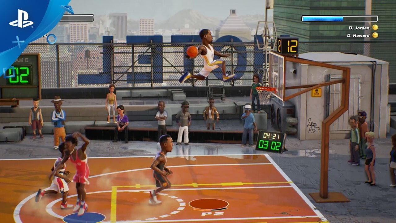 NBA Playgrounds: Watch the Gameplay Trailer, New Details