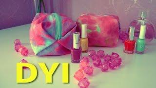 DIY  Makeup Bag/Pencil Case   Как сшить косметичку или пенал для школы