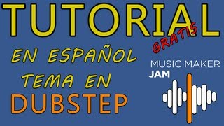 Tutorial - Windows 8 - Music Maker Jam Gratis - Tema Dubstep Español