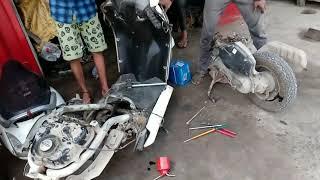 How to Activa Engine Repair  