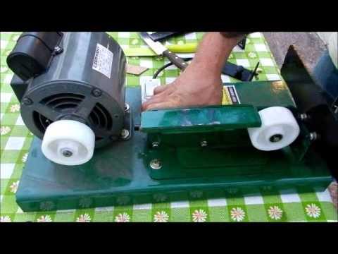 Afiladora de cuchillo--Sharpener belt grinder machine