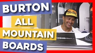 2020 Burton All Mountain Snowboards Overview