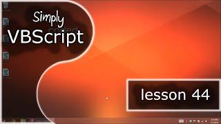 VBScript Basics, Part 44 | Creating Arrays (Arrays)