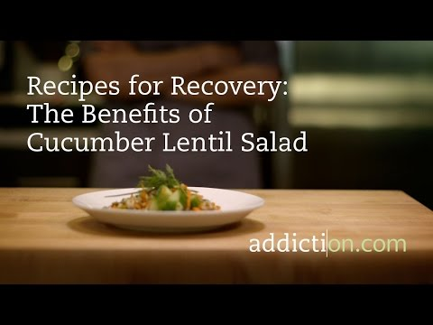 Benefits of Cucumber Lentil Salad
