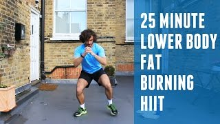 Fat Burning HIIT & Lower Body Workout | The Body Coach by The Body Coach TV