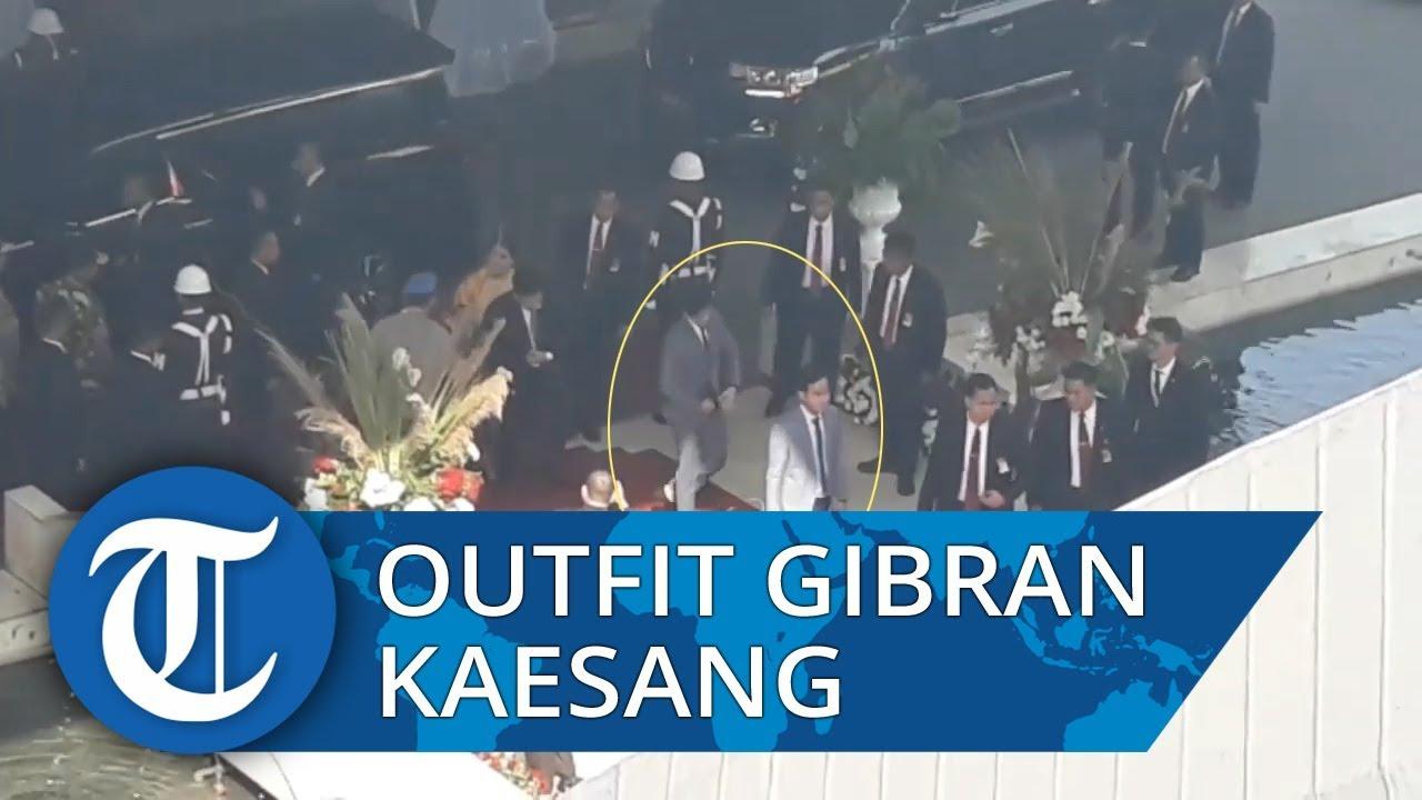 Outfit Gibran Kaesang: Kompak Gunakan Jas di Pelantikan Jokowi
