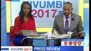 Poll server is tamper-proof   says the IEBC chair Wafula Chebukati