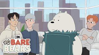 The Bear Bros Meet MONSTA X | We Bare Bears | Cartoon Network