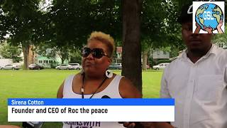 Roc the Peace was today in Rochester and even the mayor was there