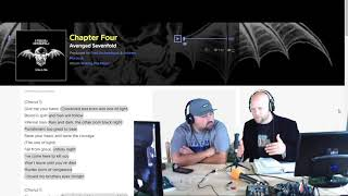 Pastor Reacts | Avenged Sevenfold  - Chapter 4 - Lyric Review