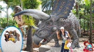 น้องบีม | ไดโนเสาร์ใหญ่ที่สุดในโลก เที่ยวชลบุรี สวนนงนุช Dinosaur
