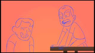 James Buffet - MBMBAM Rough Animation (WIP)