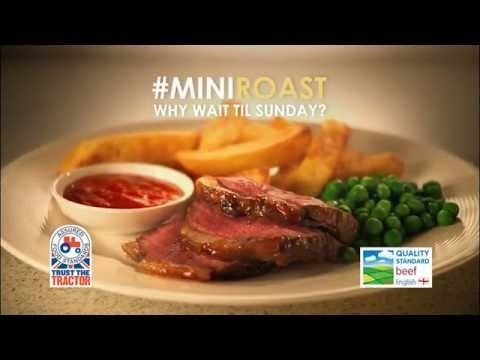 Beef Mini Roast with Sticky Sweet Chili Glaze - Andy Bates