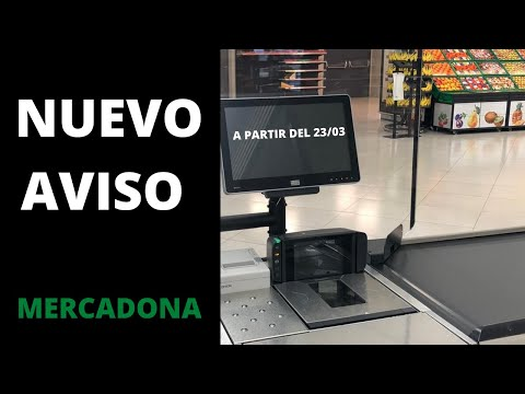 🔥MERCADONA COMUNICADO NUEVO APLICABLE A PARTIR DEL 23/03 🔥 HD Mp4 3GP Video and MP3