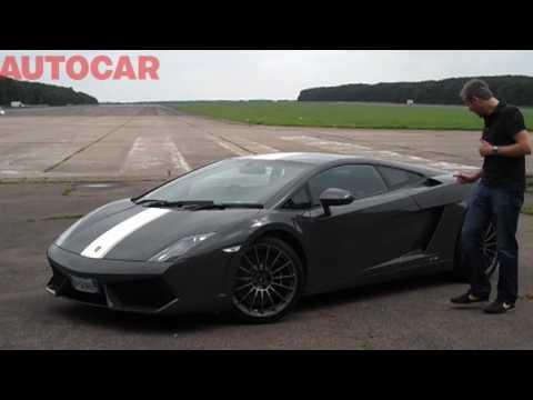 Lamborghini Gallardo LP550-2 Valentino Balboni driven by autocar.co.uk