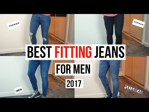BEST FITTING SKINNY JEANS FOR MEN IN 2017 (Topman, Asos, Pull & Bear)