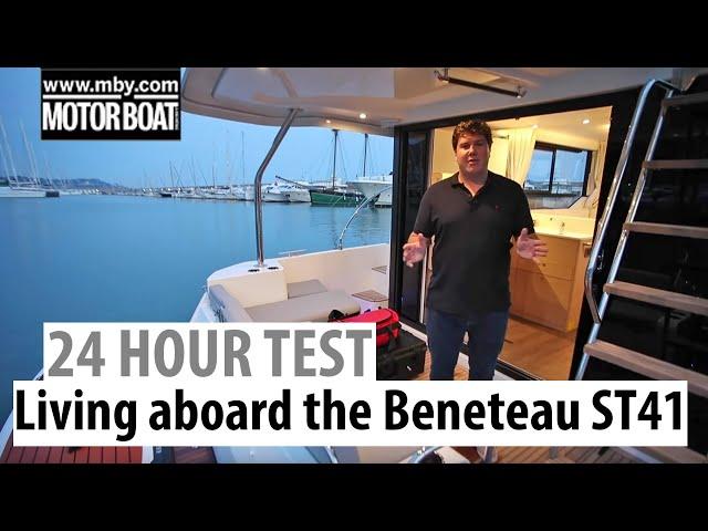 Living aboard the Beneteau Swift Trawler 41 | 24-hour boat test | Motor Boat & Yachting