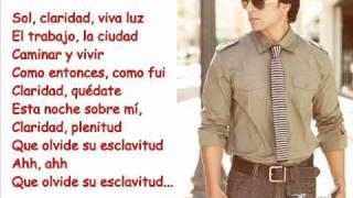 Luis Fonsi - Claridad (Lyric Video)