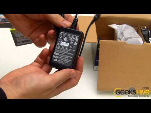 Sony Camcorder DCR-SX65 - Unboxing by www.geekshive.com