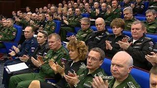 В.Путин: О новых квартирах военным и про строительство военных объектов России в мире