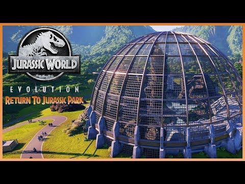 AVIARIES! COMPIES! VEHICLE DESTRUCTION! New RETURN TO JURASSIC PARK Information!