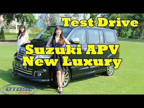 Suzuki APV New Luxury Test Drive