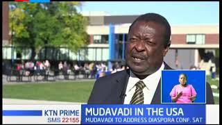 Musalia Mudavadi meets Kenyans in the diaspora over development