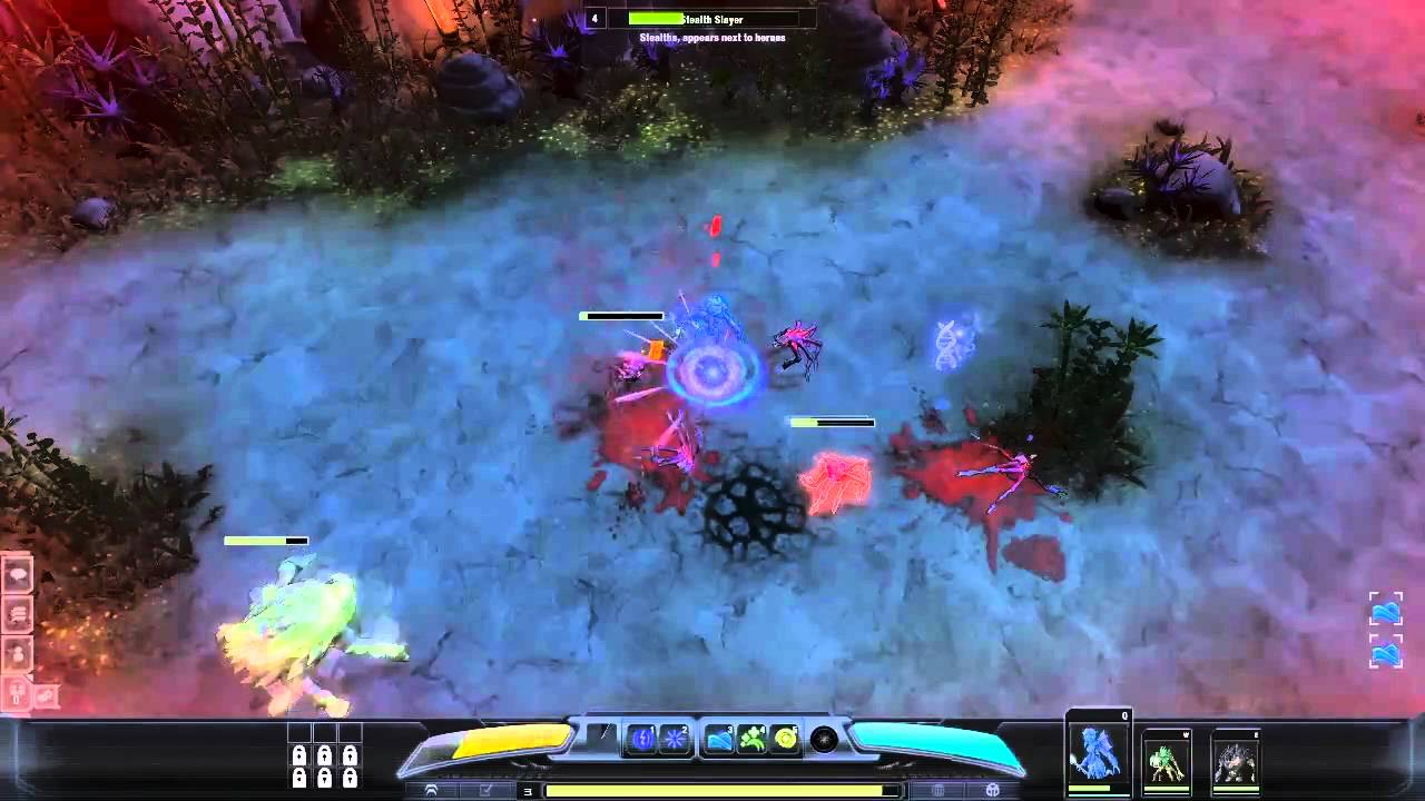 Darkspore's Latest Hero Is A Gravitic War Master
