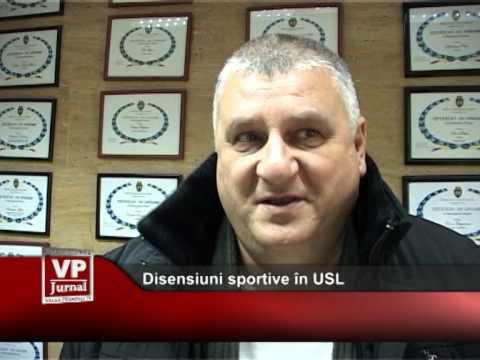 Disensiuni sportive în USL