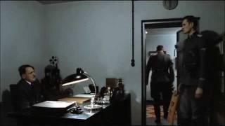 Hitler is informed Gunsche found Fegelein, then he took an arrow to the knee