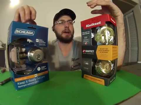 Kwikset Smart Key VS Schlage Deabolt Locks Best Most Secure Locks For Your Home Door