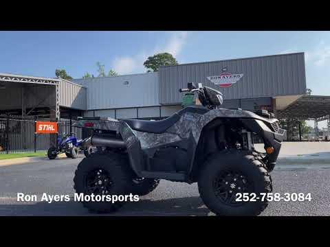 2021 Suzuki KingQuad 500AXi Power Steering SE Camo in Greenville, North Carolina - Video 1