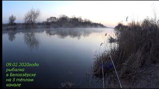 Рыбалка на теплом канале в белозерске