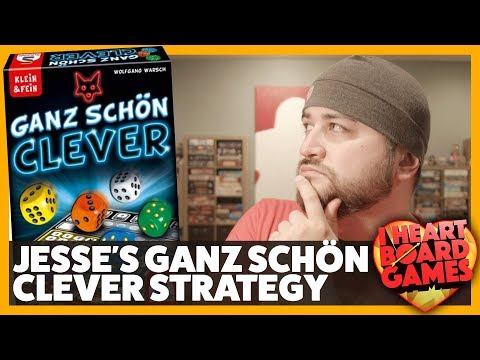 Score up to 334 playing Ganz Schön Clever - I Heart Board Games