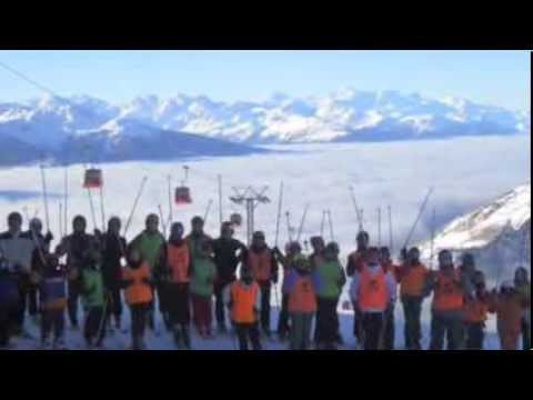 Preview video LEUKERBAD - CAMP SULLA NEVE