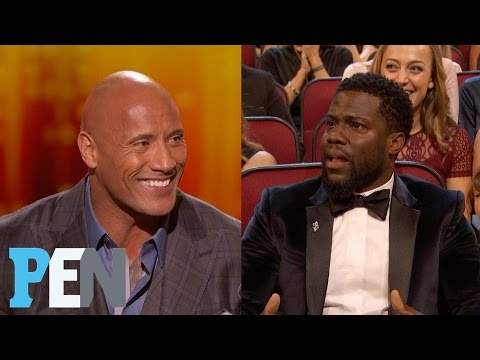 The Rock Drops the F-Bomb at the People's Choice Awards | Entertainment Weekly (видео)