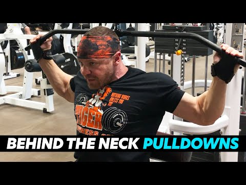 How to Perform Behind the Neck Pulldowns SAFELY and Effectively