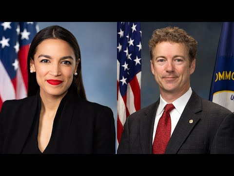 Rand Paul CALLS OUT AOC For Taking COVID Vaccine, AOC Responds!