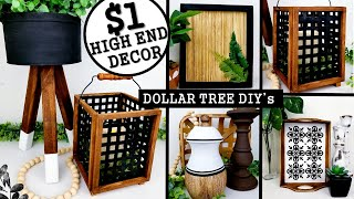 $1 DIY HOME DECOR IDEAS | DOLLAR TREE DIYs 2020 | Anthropologie Inspired