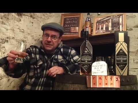 whisky review 611 – Antiquary 12yo Scotch Whisky