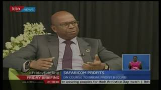 Friday Briefing: Safaricom announces a half year profit of 23.93 billion shillings