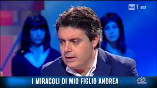 """Felice Achilli ospite di """"A Sua immagine"""" (Rai Uno)"""