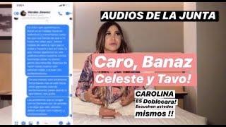 AUDIOS  DE CAROLINA DIAZ PLANEANDO TODO CON EL CEO I PRUEBAS