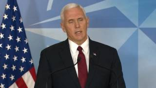 "VP Pence ""Disappointed"" Flynn Misled Him"