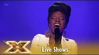 "Shan sings The Greatest Snowman´s ""Never Enough"" Live Shows 4 