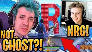 Ninja Reacts to Symfuhny *OFFICIALLY* Announcing His *NEW* Org NRG! - Fortnite Funny Moments