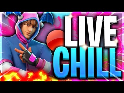 Live chill on joue a FORTNITE