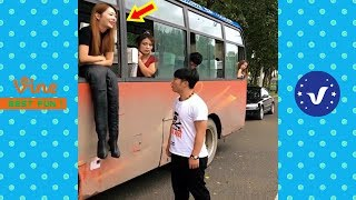 Best Funny Videos 2019 ● Cute girls doing funny things P3