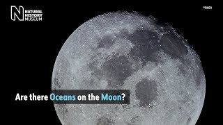 What are the dark spots on the Moon? | Natural History Museum